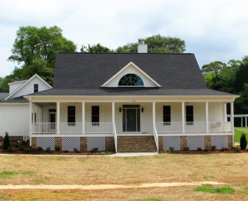 Home plans newton custom homes realty inc for Calabash cottage